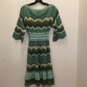 M Missoni Flirty Dress IT42
